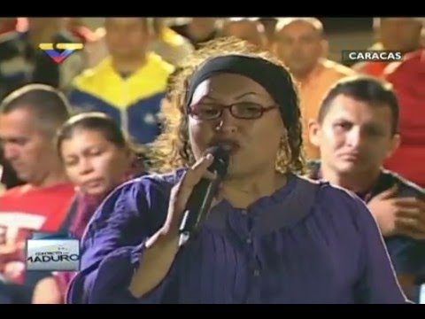 En Contacto con Maduro #51, parte 15/17, Consejo Presidencial Salud, habla Odalys Méndez