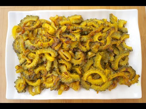 Karele Ki Bhujia Recipe - How To Make Karele Ki Bhujia With Lakshmi Recipes