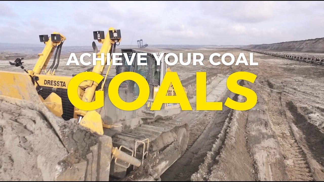 Achieve your coal goals! Dressta TD-40 in mining application