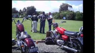 The Redeemed& Outcast Ministries of NZ. Custom Bike Show. Levin Horowhenua Domain