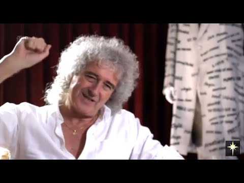 """Brian May from """"Inside Buckingham Palace"""" -  Pt1 extract"""