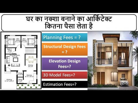 House Plan Cost  Engineer and Architect Fees for Planning   Planning cost  §3D House Model Cost 2021