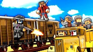 Minecraft WW2 | Runaway Train! - S4E6 (Heroes and Generals)