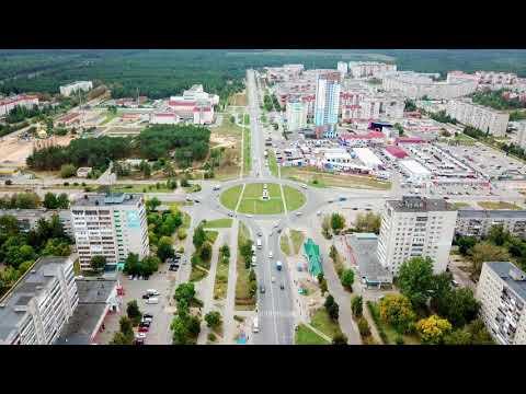 Mavic Pro  Дзержинск с высоты 100 метров