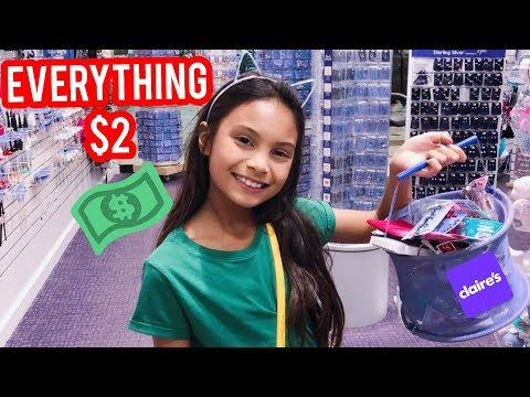 Back To School Shopping Claire's Haul