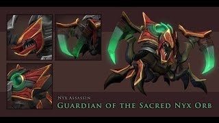 Dota 2 Nyx Assassin - Sacred Orb set preview