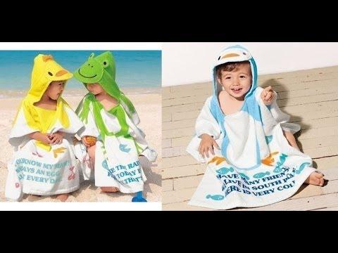 Детское полотенце - халат (Aliexpress)