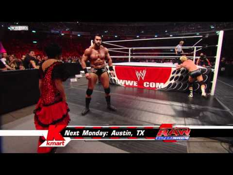 Raw - Mason Ryan vs. Dolph Ziggler