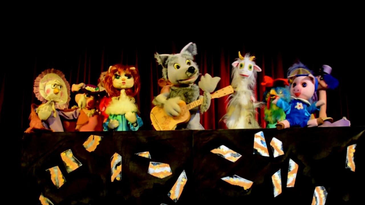 система поздравление для кукольного театра виниловые обои бумажной