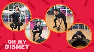 Marvel Fitness Challenge: Inspired By Thor | Oh My Disney
