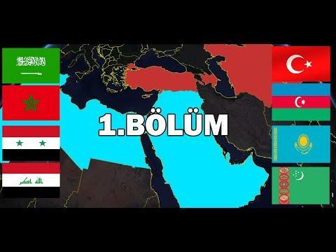 Türk ve Arap Devletleri Savaşırsa? Müttefikli 1.bölüm