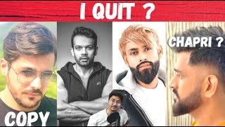 Ashish Chanchlani Video COPY ? Flying Beast Quit ?,Amir Siddiqui React on MS Dhoni New Hairstyle