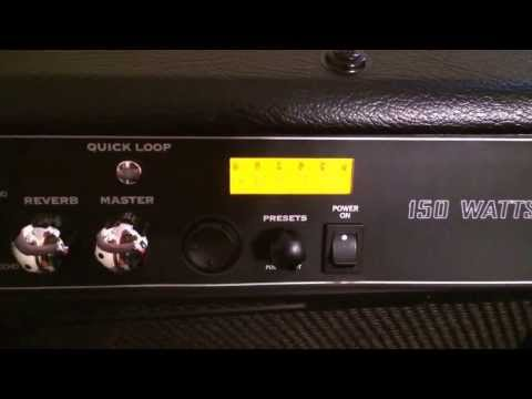 Killswitch Engage sound with a crate amp! (Line6 Spider IV HD 150 Watt) update from last video.