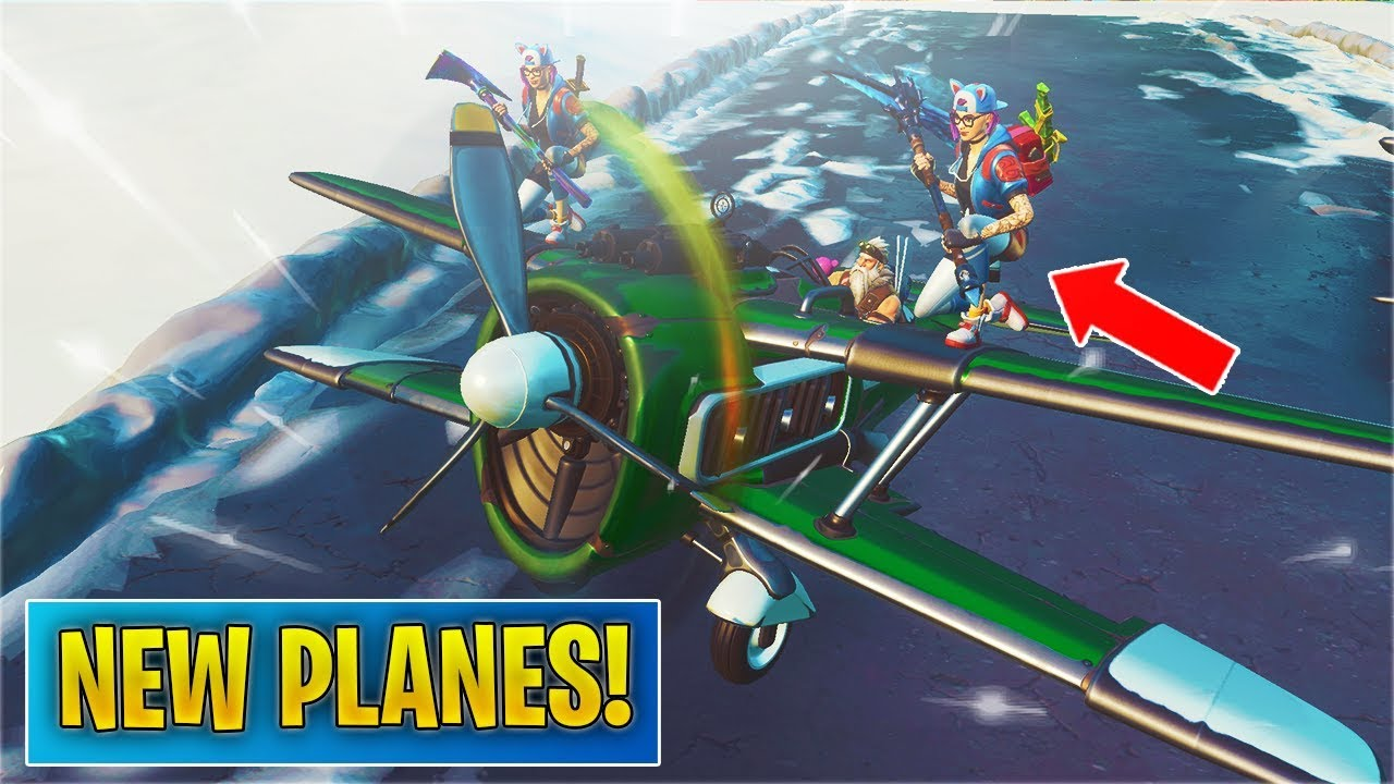 New Planes Vehicle Gameplay Spawn Location Fortnite Youtube