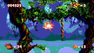 [Sega Genesis / Sega CD / 32x] - Pitfall: The Mayan Adventure - Level 1 - Ceiba Jungle