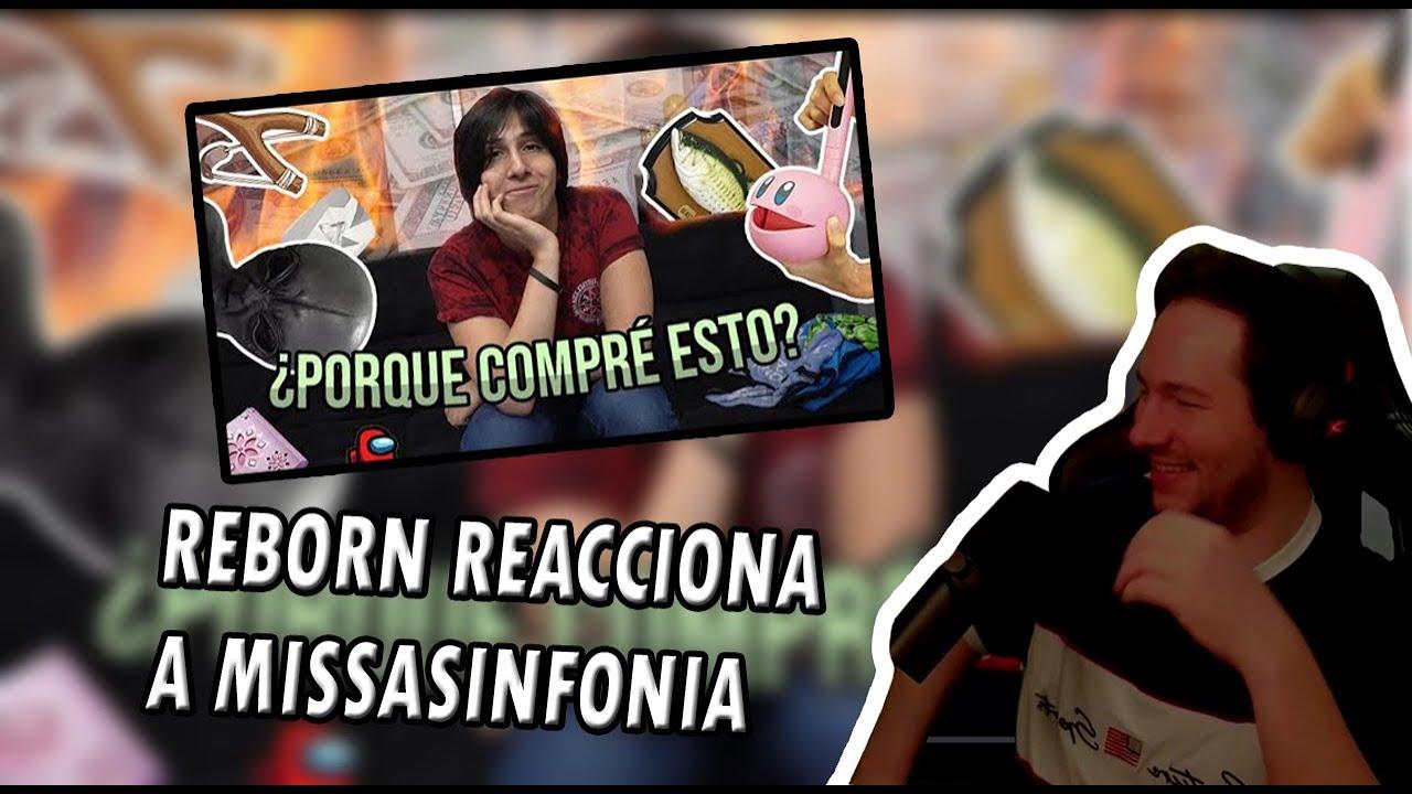 REBORN REACCIONA A MISSASINFONIA - Olvidé que había COMPRADO ESTAS COSAS 5!