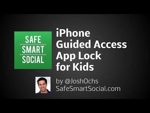 iPhone Guided Access App Lock for Kids