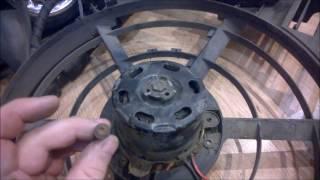 Rover 75 ремонт вентилятора(кондиционера) охлаждения ч.1