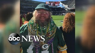 Packers superfan fights to wear his gear in Chicago's Soldier Field