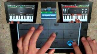 One Life - Hedley (iPad Cover) Video (Hedley Storms Album) Piano, Synth And Drums