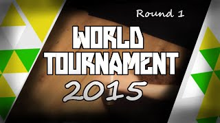 PenSpinning! - World Tournament 2015 - Top PenSpinners (Round 1)
