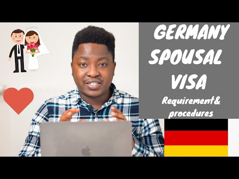 HOW TO APPLY FOR SPOUSE VISA IN GERMANY 2020|| FAMILY REUNION VISA (Requirements & Procedures)