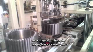 Blower Wheel Production Line - Automatic Centrifugal fan blower wheel making machine
