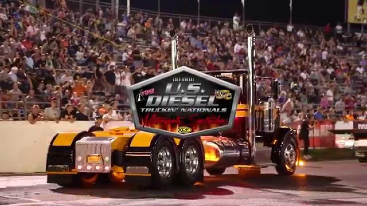 Raceway park diesel truckin nationals motorsports spectacular 2015 youtube
