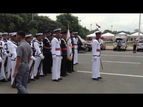 PMA Gabay Laya Class 2016 Silent Drill Independence Day 2013 (FULL)