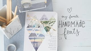 The Best Hand Lettering Styles for Bullet Journaling