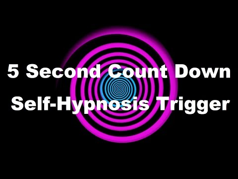 5 Second Count Down Self Hypnosis Trigger
