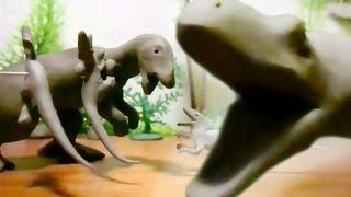 Fredz Jurassic Fight Club Claymation Style 2/2