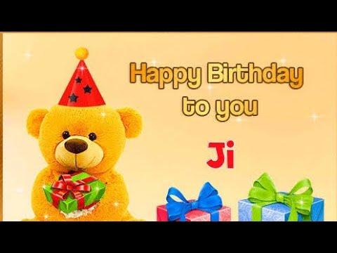 Happy Birthday To You Ji