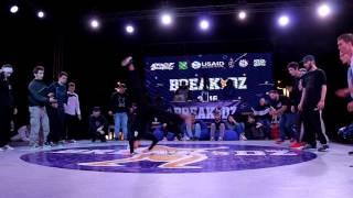 Finał Breakdance na BREAKIDZ 2016: Kharkov vs Dnepr