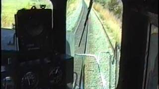 Southern Pacific  Cab ride with Night Ride