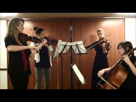 Dust in the Wind, Kansas--acoustic string quartet cover by Thalia Strings