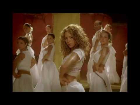 Shakira hip dance for indian music