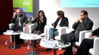 Panel discussion at the Frankfurt Book Fair 2012 with Fayrouz Karaw...
