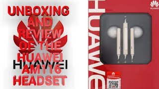 Unboxing & Review of Huawei AM116 Headset.