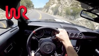 2016 Ford Mustang Shelby GT350R - WR TV POV Canyon Drive