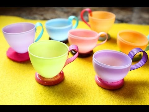 Let S Have A Tea Party How To Make Teacups Using