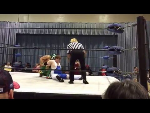 3.3.16 Lucas Nero vs Saiko Gato vs Robert Backlund Jr at SCCW in Mobile, Alabama.