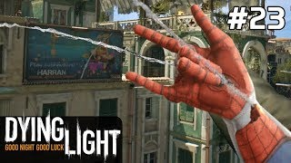 Dying Light Gameplay PC PL / FULL DLC [#23] KOTWICZKA Spider-Man? /z Skie