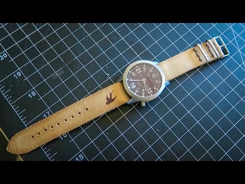 D.I.Y LEATHER WATCH STRAP