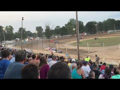 Crystal Motor Speedway Pro Stock Heat Race 7/3/2018