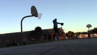 8 Foot Rim Dunks With CJ and David Video
