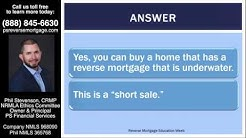 Can I BUY a home if the owner has a Reverse Mortgage?