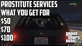 Gamer : GTA 5 TWO Locations to pick up a prostitute