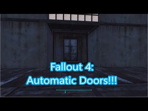 Fallout 4 Automatic Powered Door Guide  sc 1 st  YouTube & Fallout 4: Automatic Powered Door Guide - YouTube pezcame.com