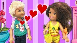 Barbie ve Ailesi Bölüm 128 - Can Aşık Oluyor - Çizgi film tadında Barbie oyunları